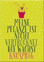 Bild von Blatt & Blüte Magnet Knusprig , VE-3