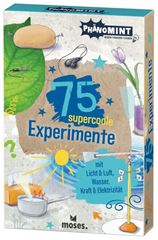 Picture of PhänoMINT 75 supercoole Experimente mit Licht & Lupe, VE-1